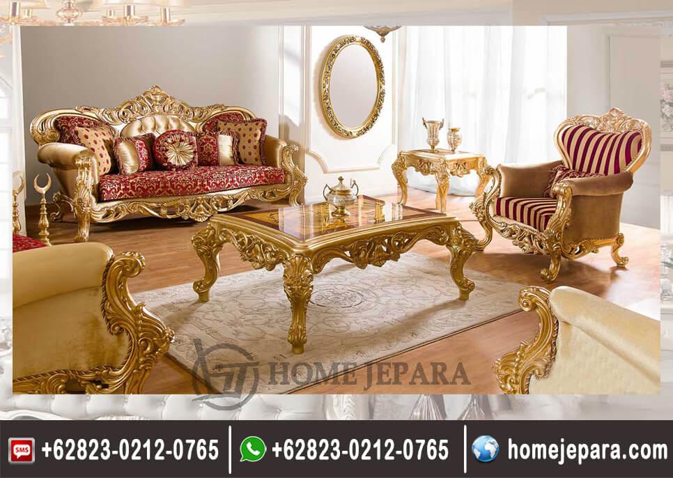 Sofa Tamu Classik Emmas TFR - 0428