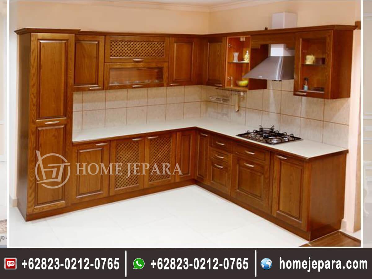 Kitchenset Minimalis Jati TFR - 0521