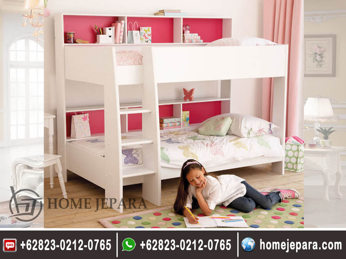 Tempat Tidur Tingkat Anak Minimalis Modern TFR - 0582