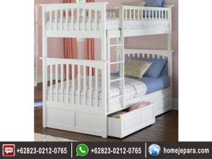 Tempat tidur tingkat minialis duco TFR – 0419
