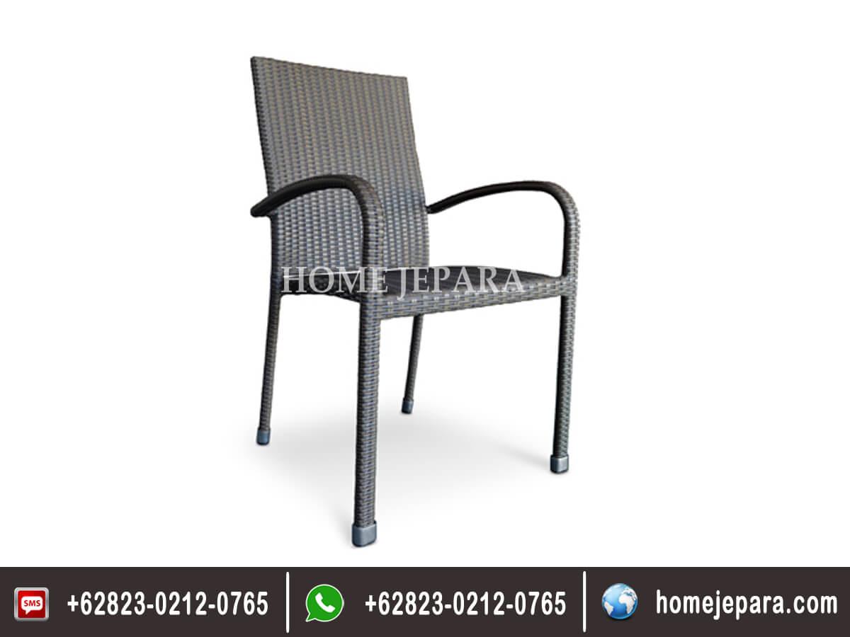 Kursi Rotan Rufi Dining Chair TFR - 0293