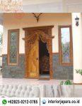 Pintu Gebyok Rumah Minimalis TFR – 0337