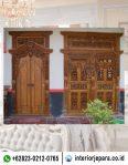 Pintu Rumah Gebyok Jati TFR – 0338