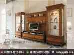 Set Bufet TV Minimalis Jati Mewah TFR – 0472