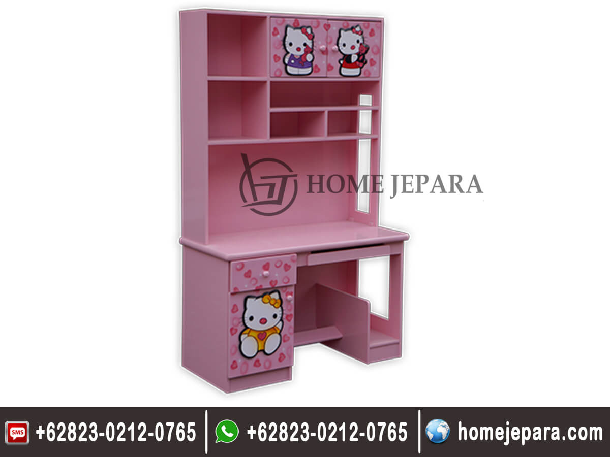 Meja Belajar Minimalis Hello Kitty TFR - 0360