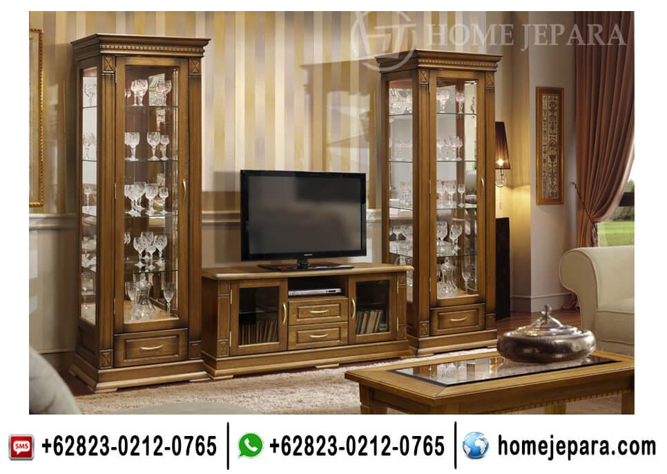 Set Lemari Pajangan Buffet TV Jati TFR - 0570