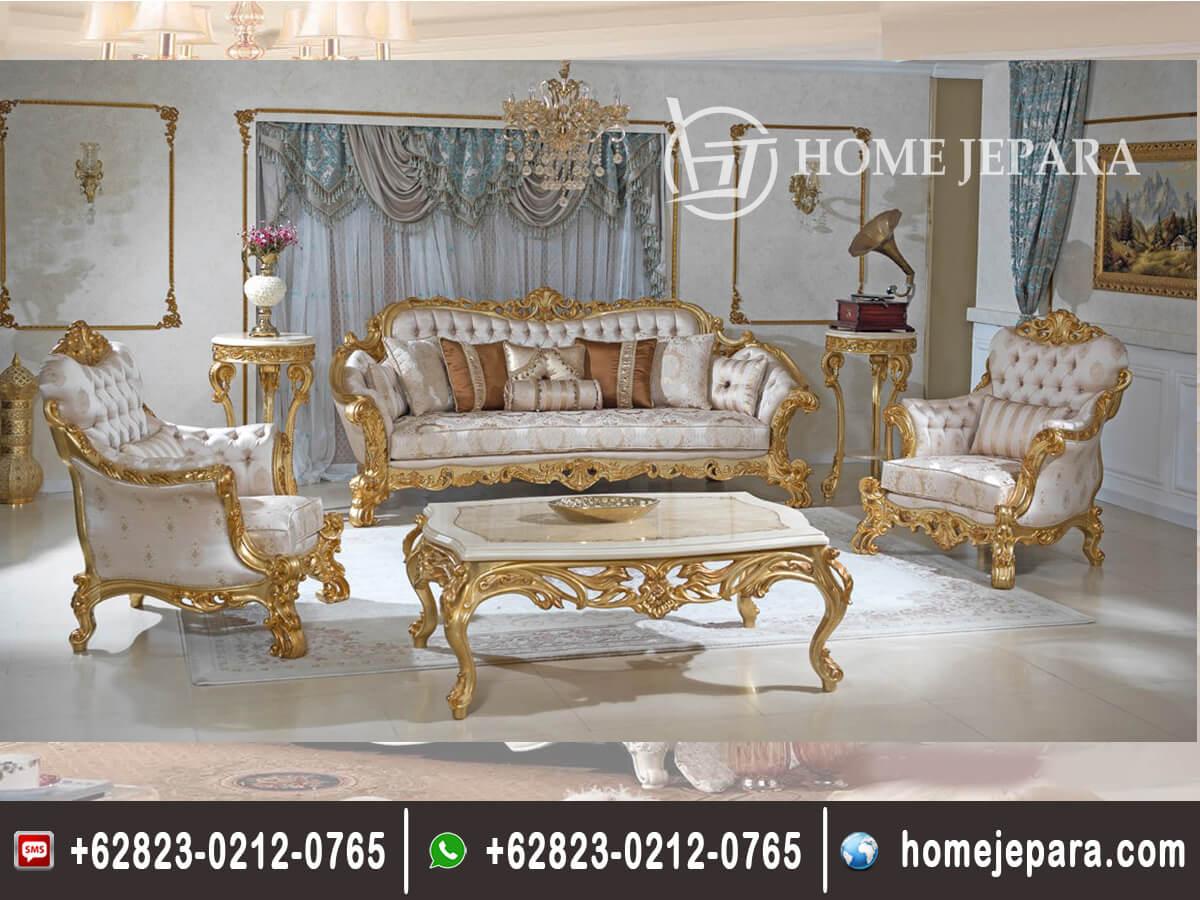 Set Sofa Tamu Klasik Ceytag TFR - 0654