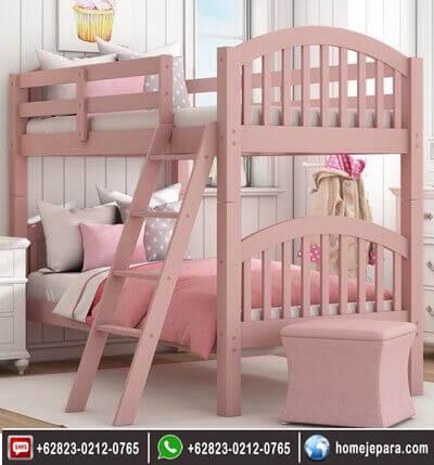Tempat Tidur Tingkat Pink TFR - 0585