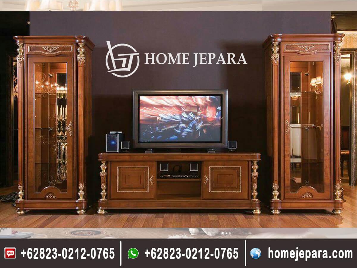 Buffet TV Minimalis Jati Modern TFR - 0608