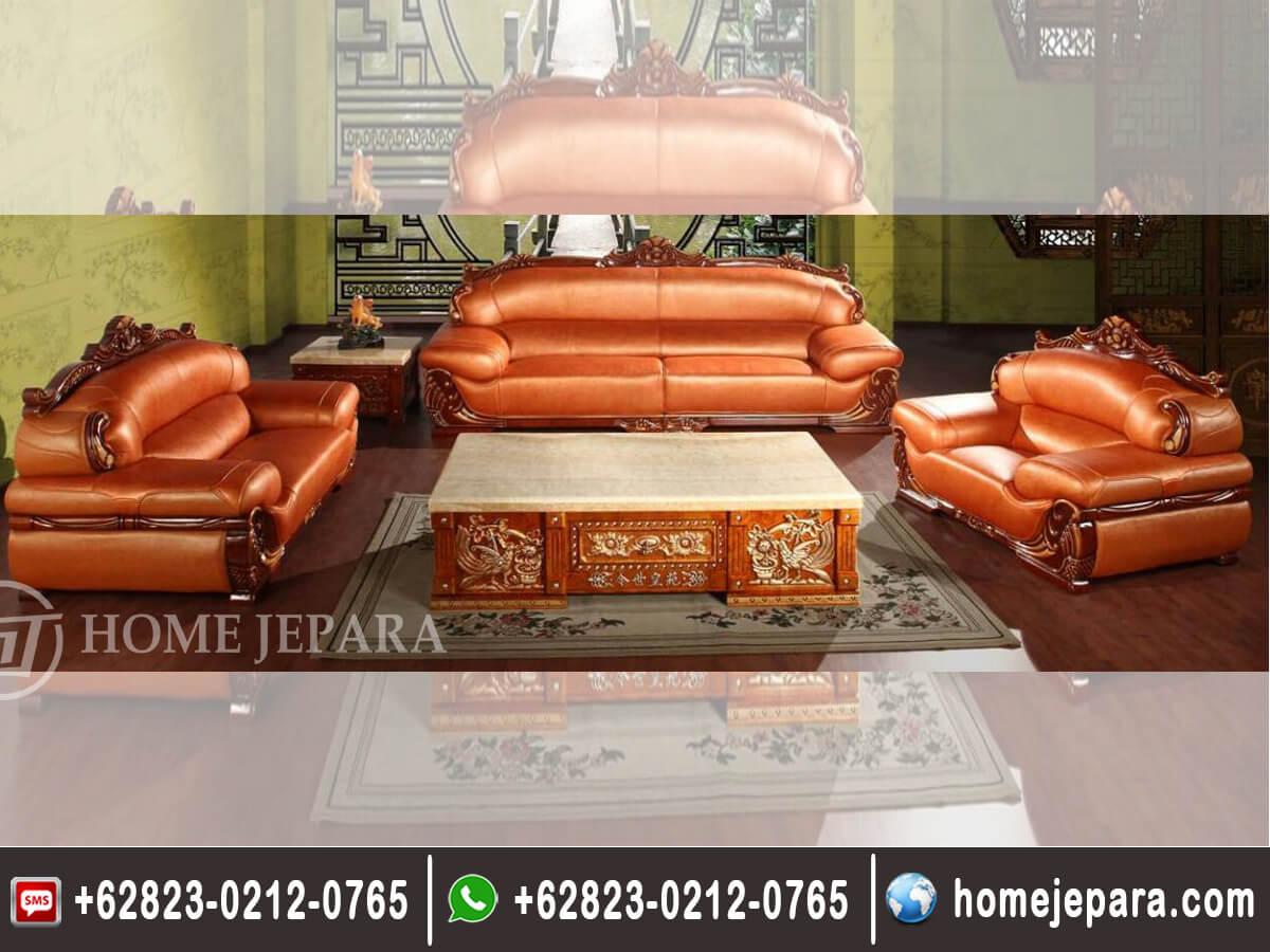 Kursi Sofa Tamu Motif Burung TFR - 0635