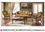 Kursi Set Sofa Tamu Italian Black TFR – 0668
