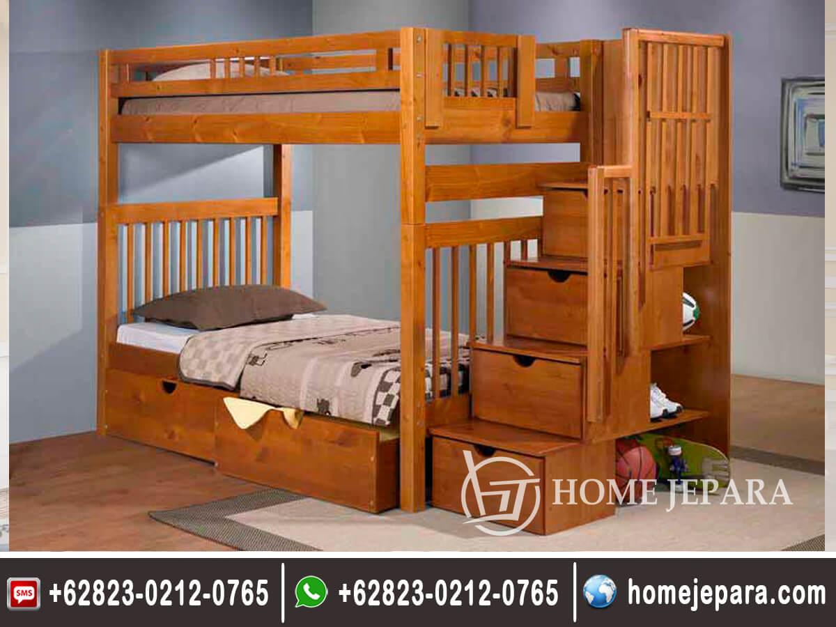 Tempat Tidur Tingkat Minimalis Natural TFR - 0550