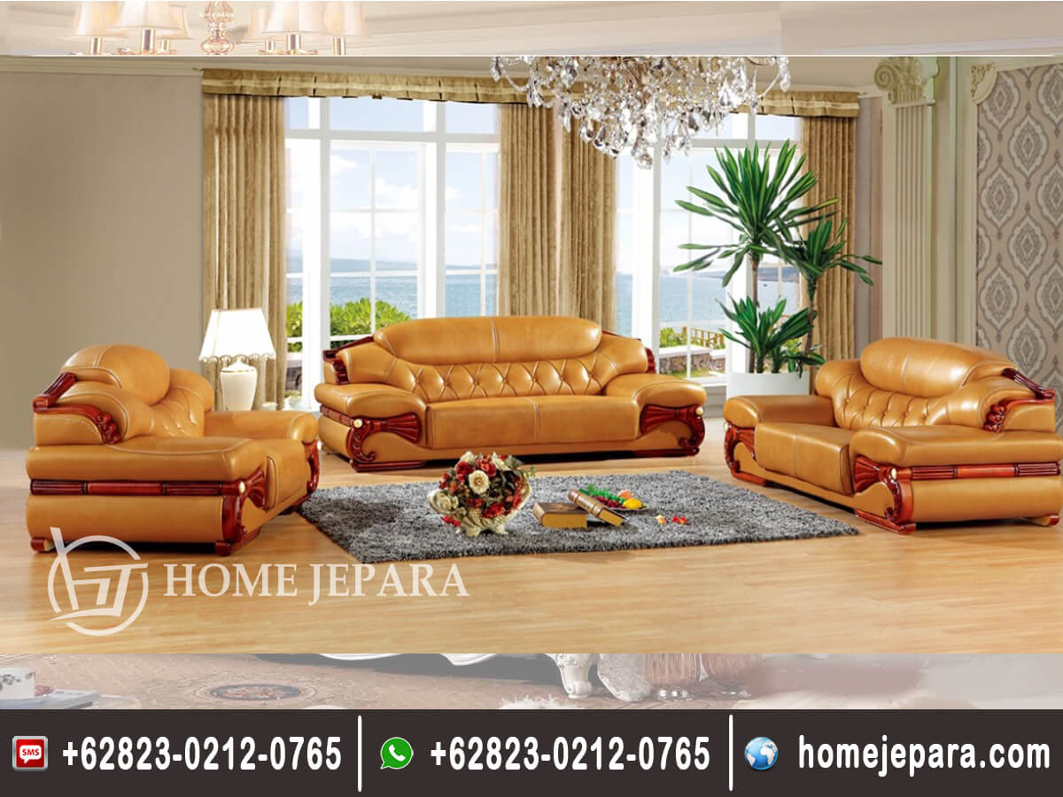 Kursi Sofa Tamu Jumbo Antik TFR - 0636