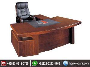 set Meja Kantor Pimpinan Minimalis TFR – 0548