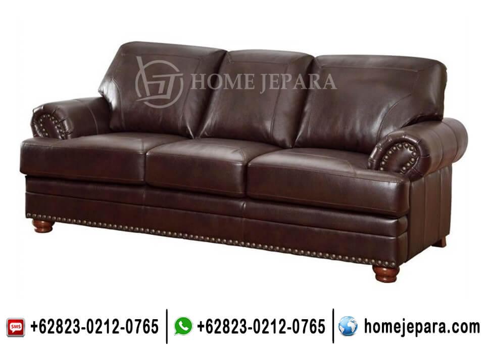 Bangku Sofa Klasik Brown TFR - 0662