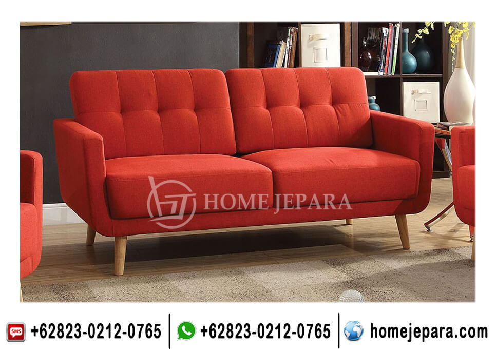 Kursi Sofa Minimalis 2 Seater TFR - 0665