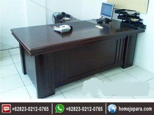 Set Meja Kantor Minimalis Modern TFR – 0549