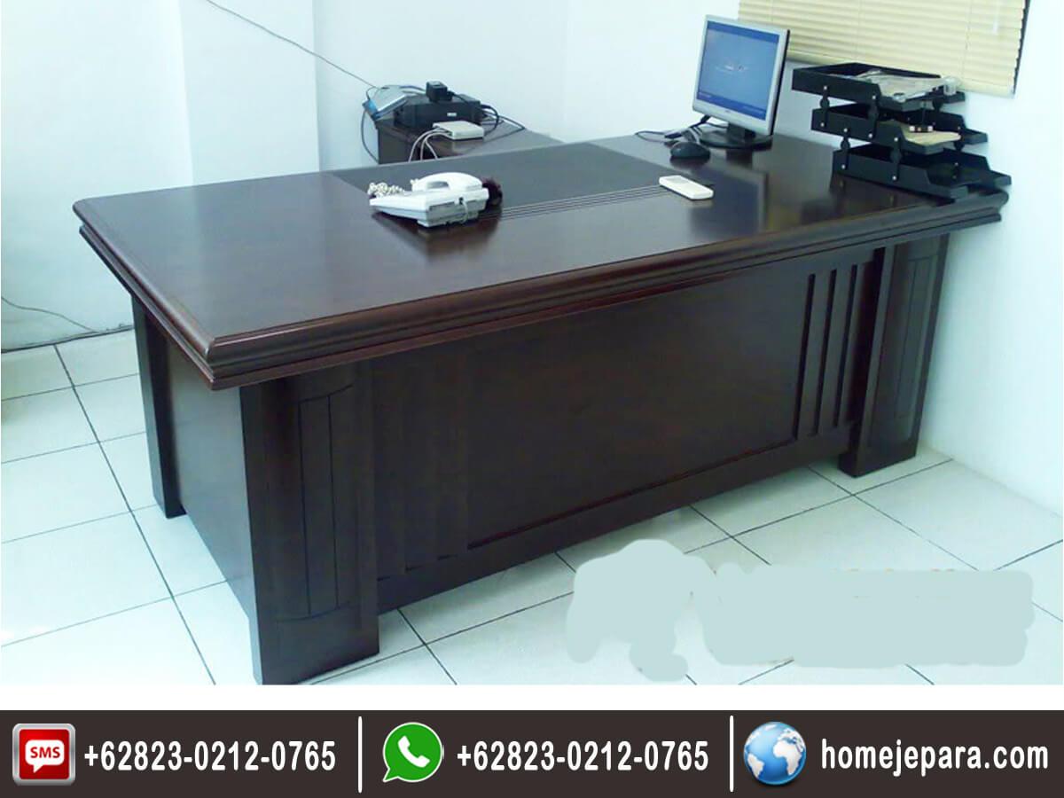 Set Meja Kantor Minimalis Modern TFR - 0549