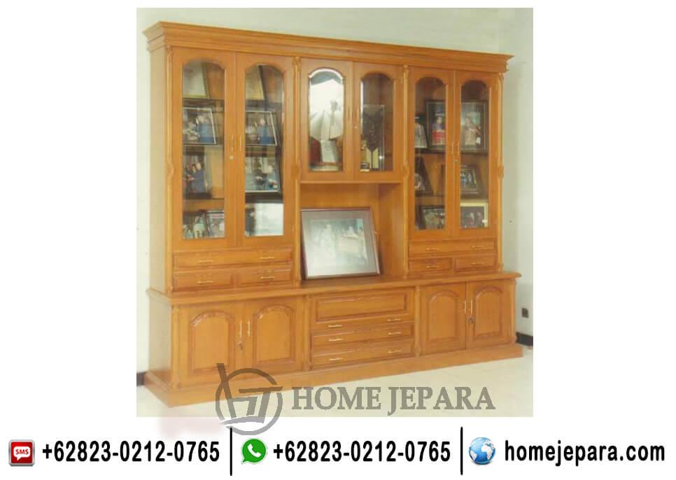 Almari Buffet Tv Pajangan Jati TFR - 0617