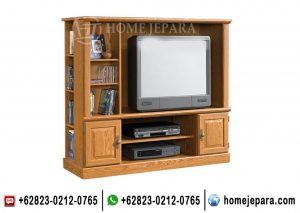 Almari Tv Minimalis Jati TFR – 0616
