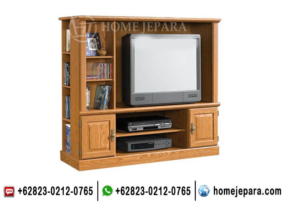Almari Tv Minimalis Jati TFR - 0616