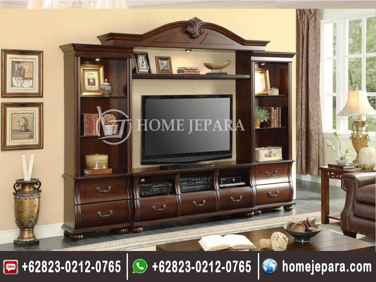 Lemari Bufet TV Kayu Jati TFR - 0571