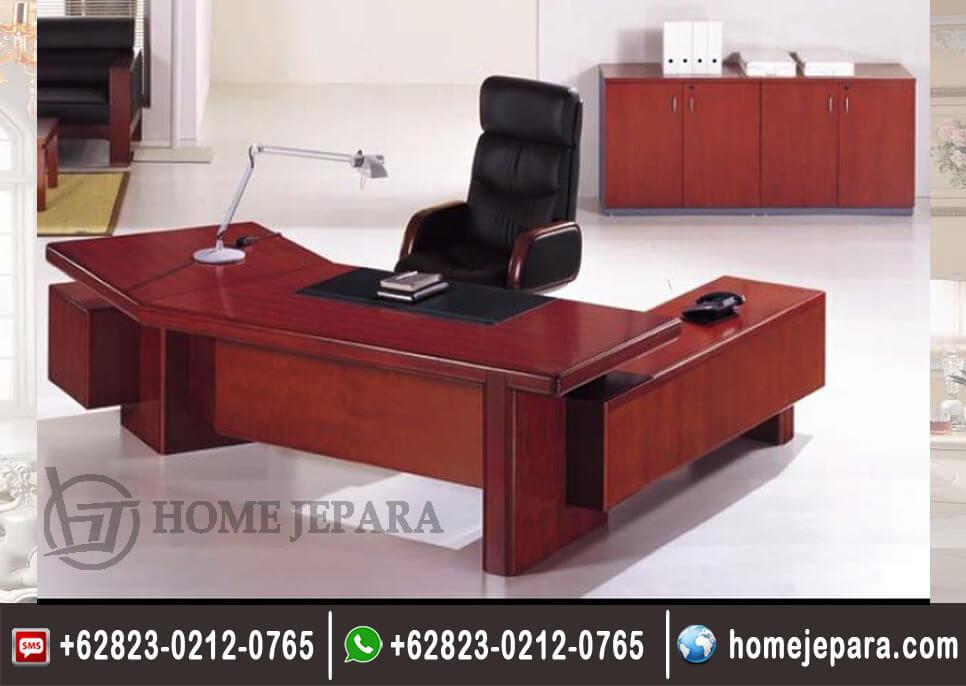 Set Meja Kantor Pimpinan Minimalis Mewah TFR - 0564