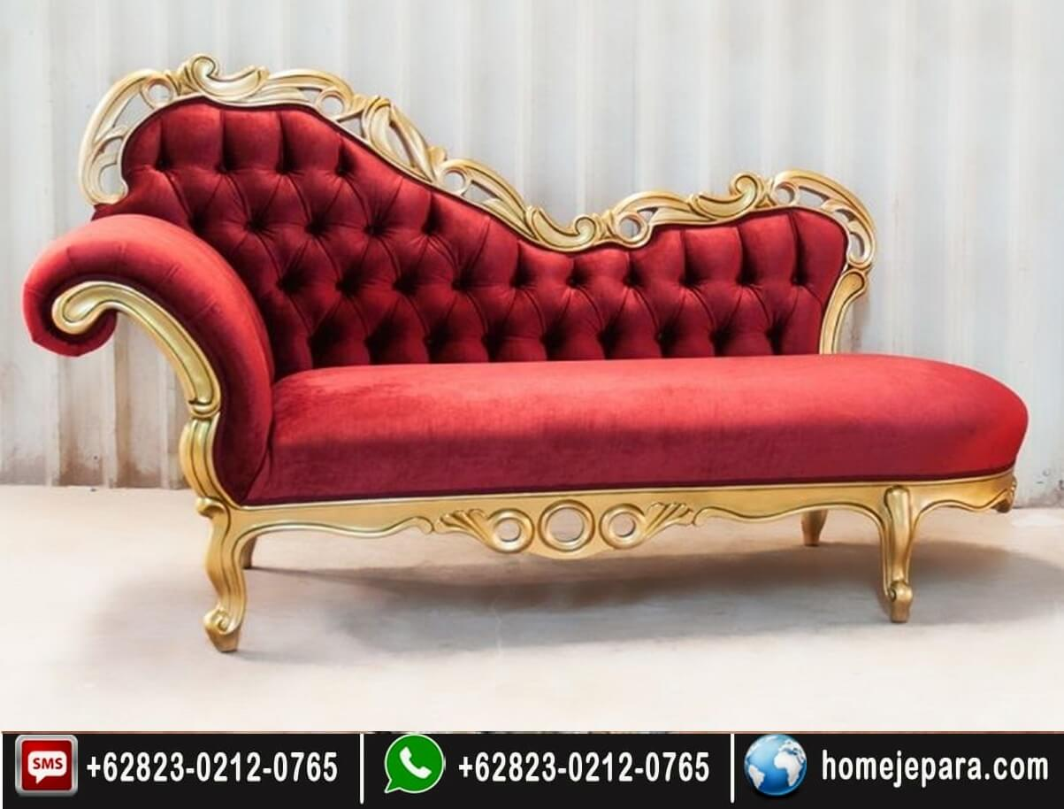 Bangku Sofa Ukiran Gold FO - 0723