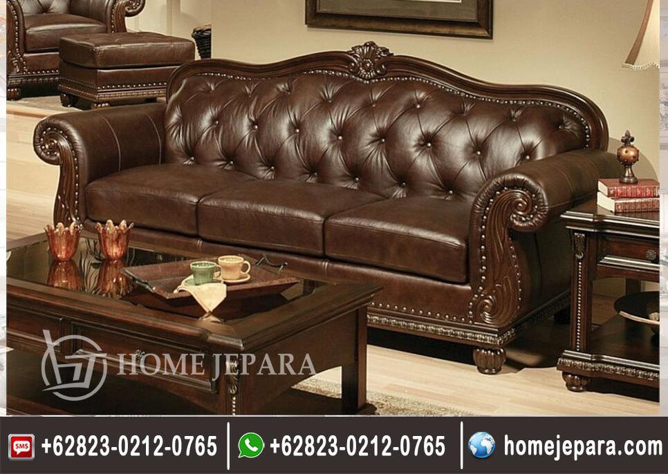 Sofa Bangku Clasik Mewah TFR - 0675