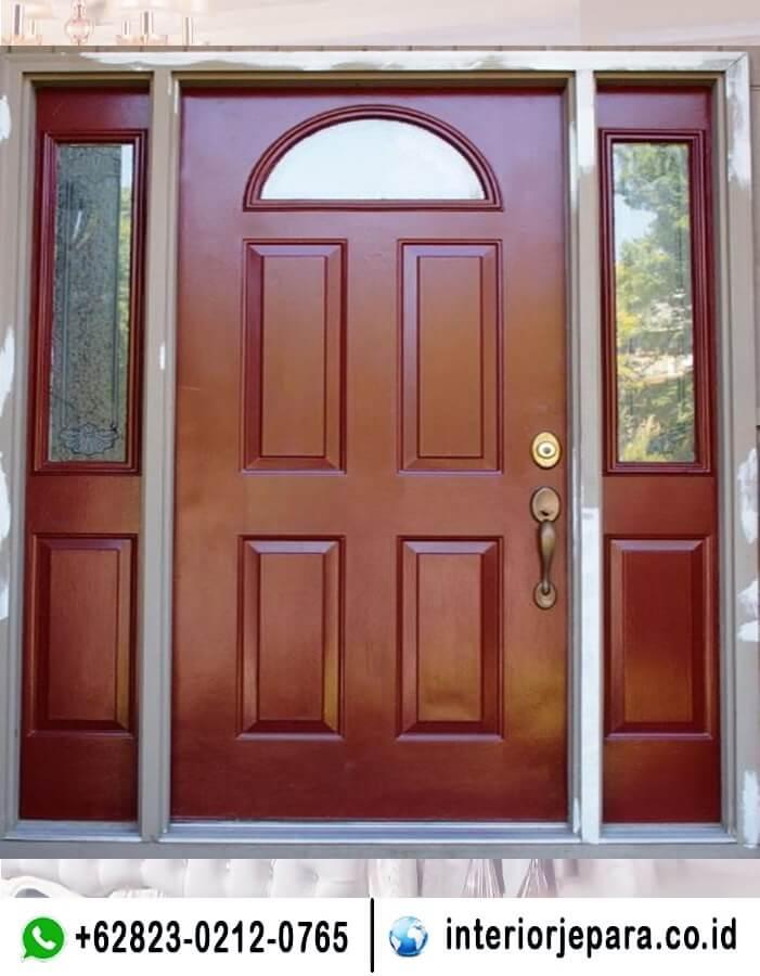Pintu Rumah Jati Minimalis Modern TFR - 0700