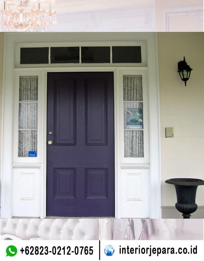 Pintu Rumah Utama Minimalis TFR - 0701