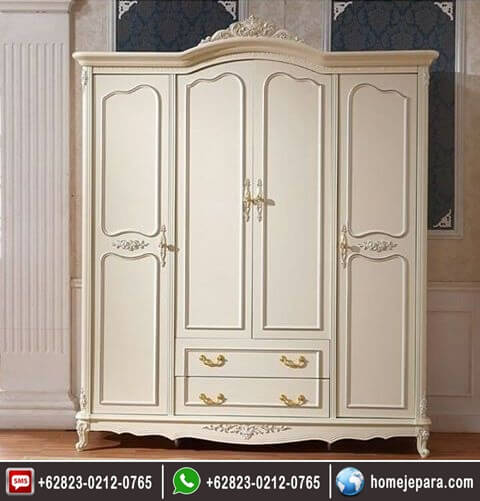 lemari pakaian 3 pintu ukiran duko FO - 0734