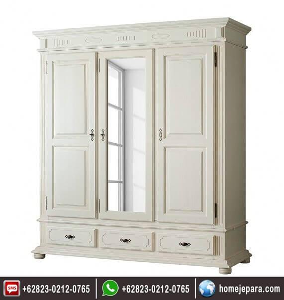 lemari pakaian cermin 3 pintu FO - 0735