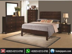 set tempat tidur jepara minimalis TFR – 0727