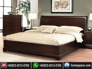 set tempat tidur minimalis jati jepara TFR – 0728