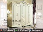 Almari Pakaian Mawar Duco Putih TFR – 0388
