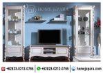 Set Buffet TV Almari Pajangan Modern TFR – 0474