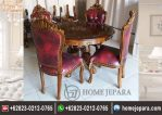 Set Meja Makan Bulat Ganesha TFR – 0619
