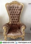 Kursi Sofa Princes Syahrini Coklat TFR – 0720