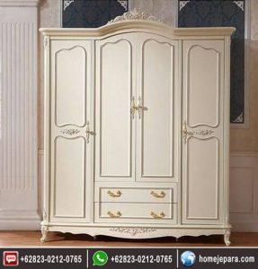 lemari pakaian 3 pintu ukiran duko FO – 0734