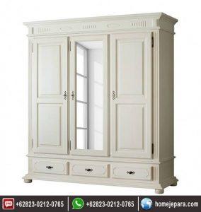 lemari pakaian cermin 3 pintu FO – 0735